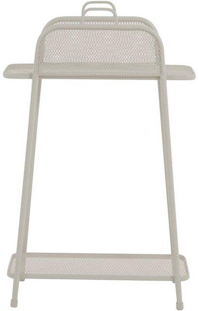 Küchenregale - Garden Pleasure Regal »Shelfo«, Metall, 65,5x27x105,5 cm, beige  - Onlineshop OTTO
