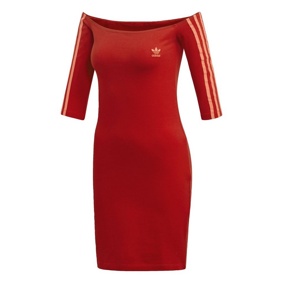 new lower prices great look shoes for cheap adidas Originals Shirtkleid »Off-the-Shoulder Kleid« adicolor online kaufen  | OTTO