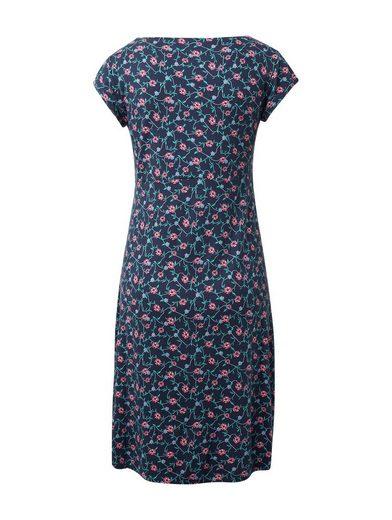 TOM TAILOR Jerseykleid »Kleid mit Blumenmuster«