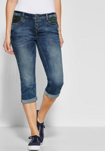 STREET ONE Comfort-fit-Jeans mit vier Knöpfen am Bund