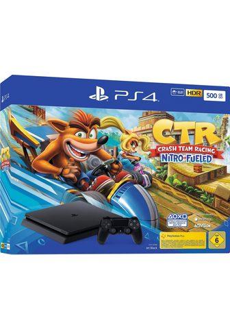 PLAYSTATION 4 Siauras (PS4 Slim) 500 GB