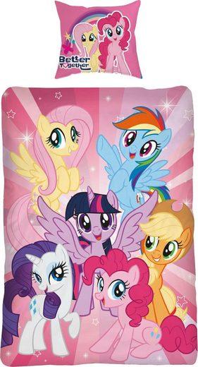 Kinderbettwäsche »Ponyteam«, mit Ponys
