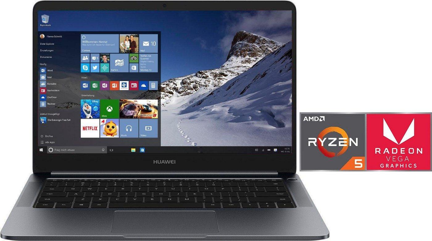 Huawei MateBook D Notebook (35,56 cm/14 Zoll, AMD Ryzen 5, 512 GB SSD)