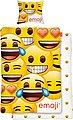Wendebettwäsche »Faces«, mit Emojis, Bild 1