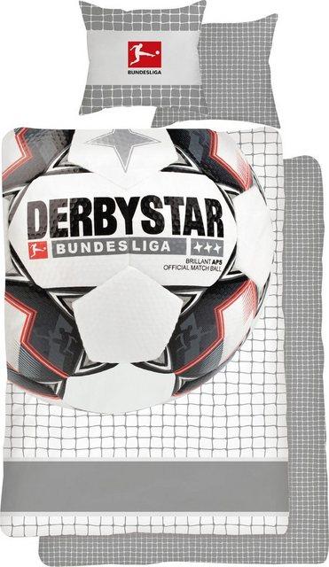Jugendbettwäsche »Derby Star«, mit Fussball   Kinderzimmer > Textilien für Kinder > Kinderbettwäsche   Baumwolle   OTTO
