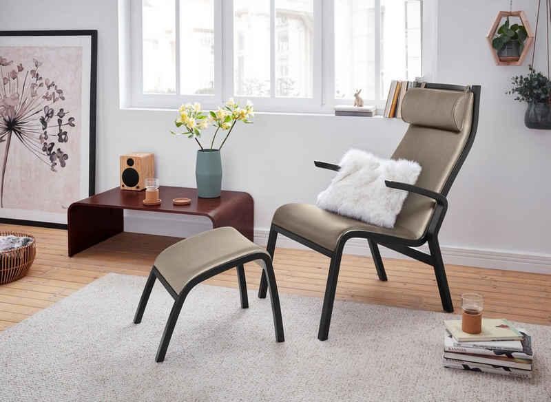 andas Relaxsessel »Zürich«, mit Hocker, in 3 verschiedenen Bezugsqualitäten