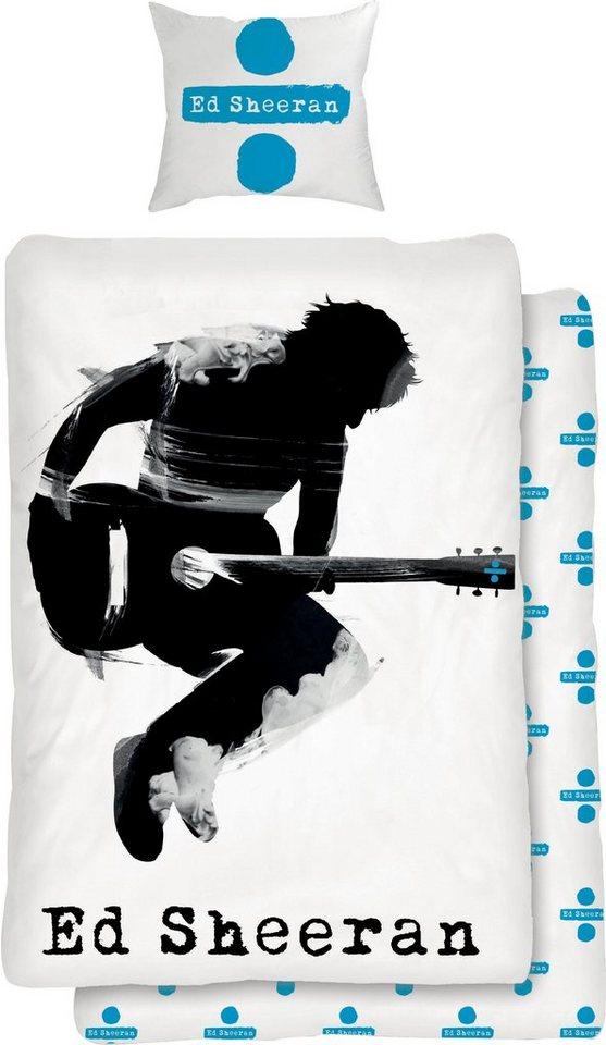Kinderbettwäsche »Musician«, für Ed Sheeran Fans   Kinderzimmer > Textilien für Kinder > Kinderbettwäsche   Blau   OTTO