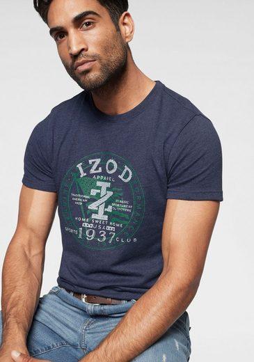 IZOD T-Shirt in melierter Optik