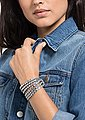 Swarovski Lederarmband »POWER COLLECTION SLAKE, 5511698«, mit Swarovski® Kristallen, Bild 4