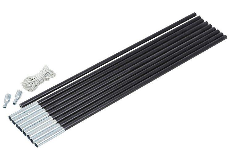CAMPZ Zeltzubehör »Glass Fibre Pole Set 11mm x 4,55m«