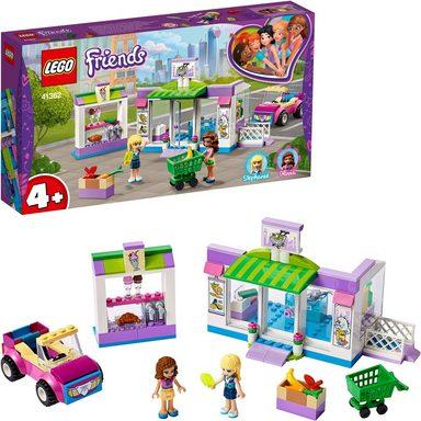 lego konstruktionsspielsteine supermarkt von heartlake city 41362 lego friends 140 st. Black Bedroom Furniture Sets. Home Design Ideas
