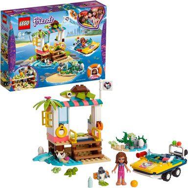 LEGO® Konstruktionsspielsteine »Schildkröten-Rettungsstation (41376), LEGO® Friends«, (225 St)