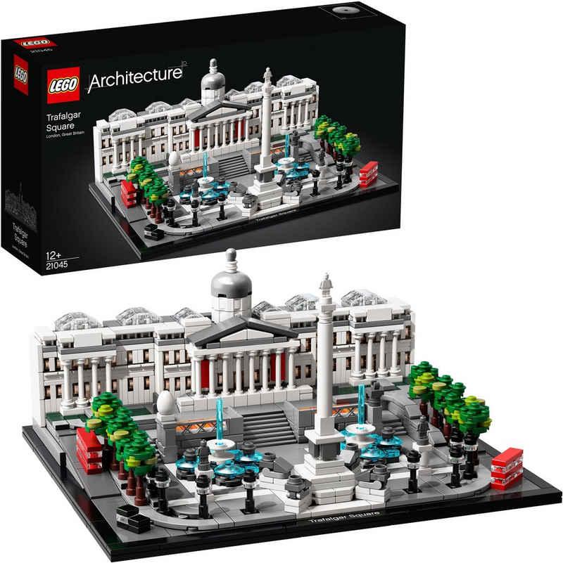 LEGO® Konstruktionsspielsteine »Trafalgar Square (21045), LEGO® Architecture«, (1197 St), Made in Europe