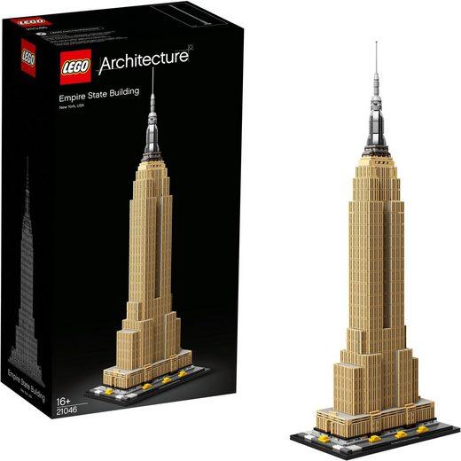 LEGO® Konstruktionsspielsteine »Empire State Building (21046), LEGO® Architecture«, (1767 St)