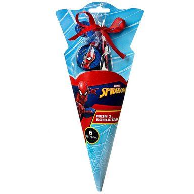 UNDERCOVER Mini Schultüte Spider-Man, 6-tlg.