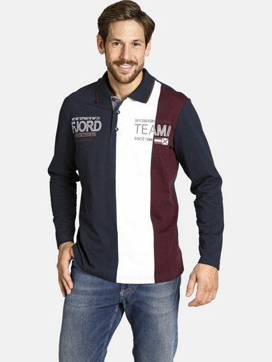 Jan Vanderstorm Sweatshirt »BERNTH« in trendigem Rugby-Design