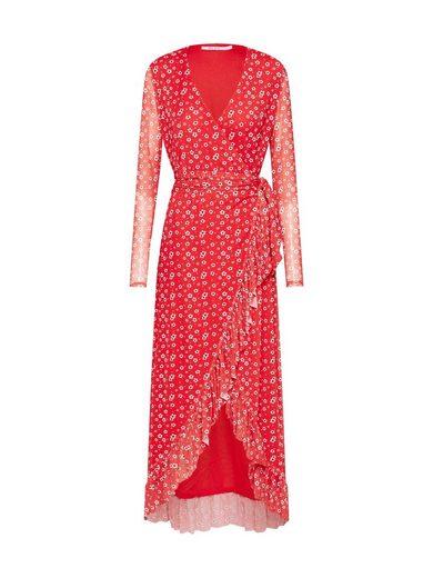 NA-KD Wickelkleid »Mesh Wrap Waist Dress«