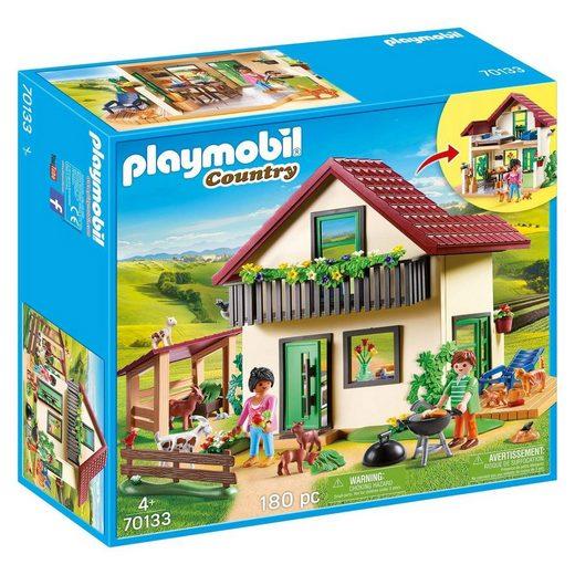 Playmobil® Spielwelt »PLAYMOBIL® 70133 - Country - Bauernhaus«
