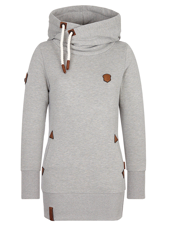 naketano Kapuzensweatshirt »Darth«, Rippstrick am Saum online kaufen | OTTO