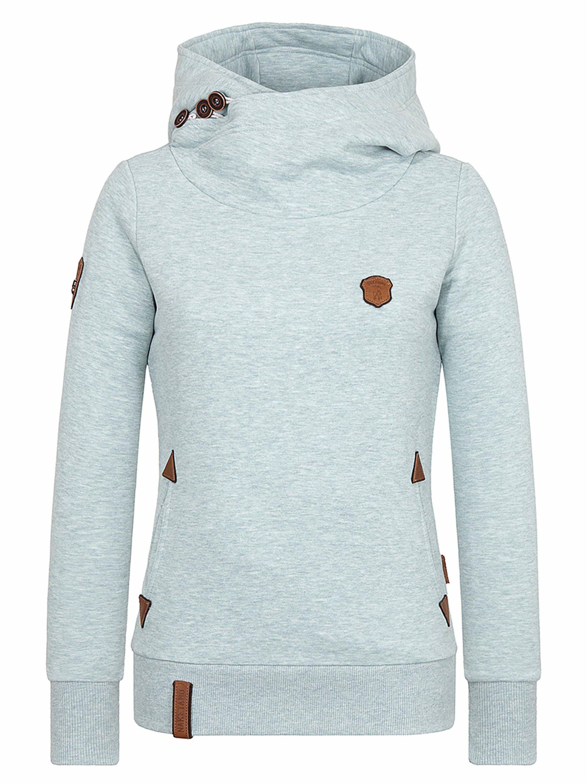 naketano Kapuzensweatshirt »Schickobello«, Eingrifftaschen online kaufen | OTTO