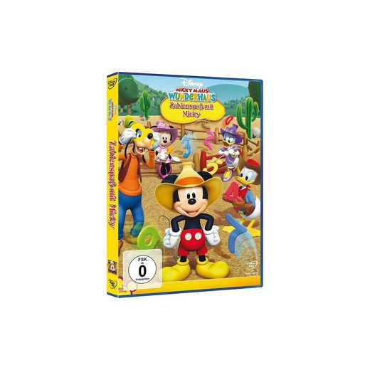 Disney DVD Micky Maus Wunderhaus: Zahlenspaß mit Micky