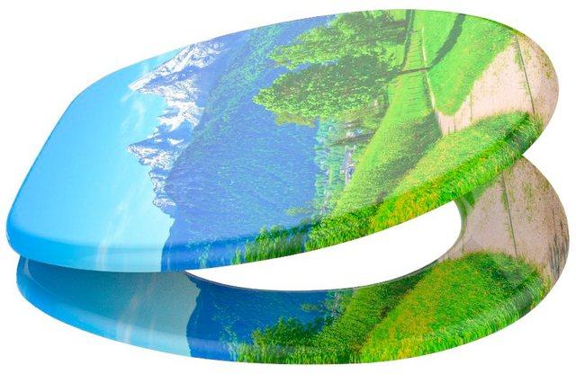 WCs und Zubehör - SANILO WC Sitz »Alpen«, mit Absenkautomatik  - Onlineshop OTTO