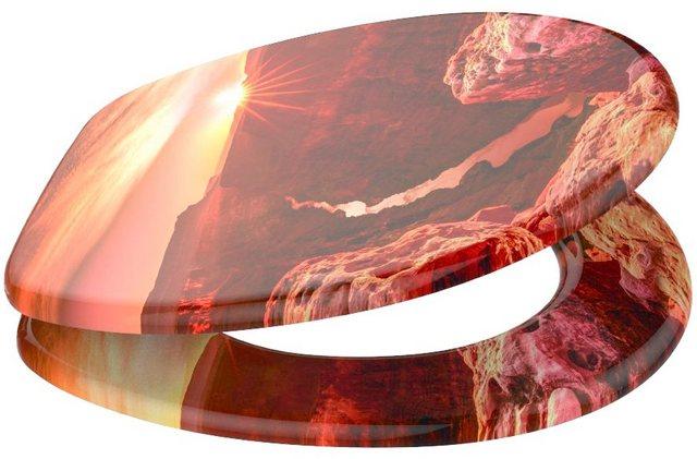WCs und Zubehör - SANILO WC Sitz »Grand Canyon«, mit Absenkautomatik  - Onlineshop OTTO