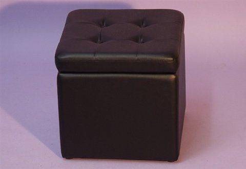 Sitzwürfel in schwarz