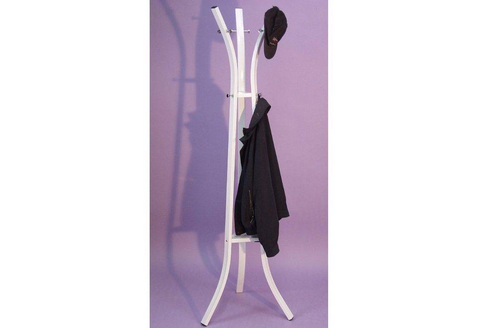 Garderobenständer in weiß