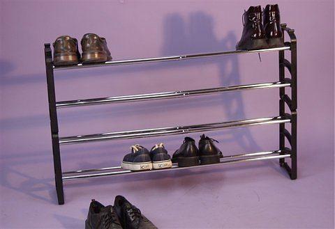 Schuhregal in schwarz online kaufen otto
