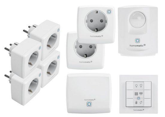 Homematic IP Smart Home Set »Smart Schalten (beliebig Erweiterbar)«