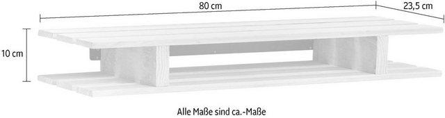 Badregale - Zeller Present Wandregal »Palette«  - Onlineshop OTTO