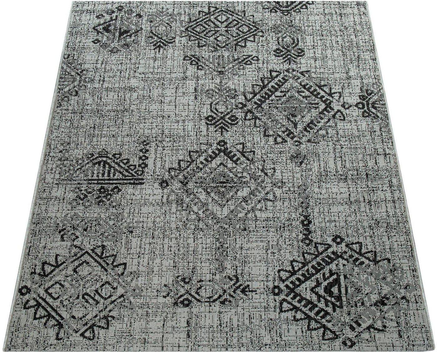 Teppich »Coco 202«, Paco Home, rechteckig, Höhe 16 mm | Heimtextilien > Teppiche > Sonstige-Teppiche | Grau | Laminat | Paco Home