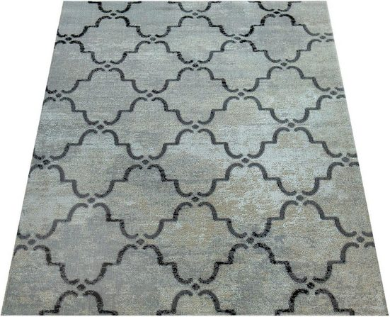 Teppich »Artigo 411«, Paco Home, rechteckig, Höhe 11 mm, In- und Outdoor geeignet, Vintage Design