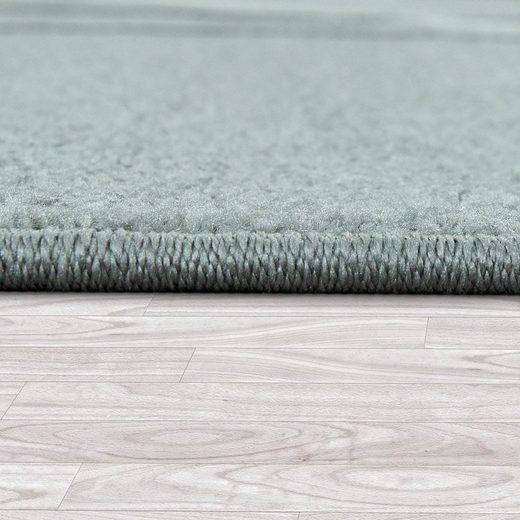 Teppich »ECE 910«  Paco Home  rechteckig  Höhe 14 mm  Kurzflor  Liniertes Design