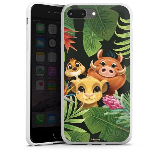 DeinDesign Handyhülle »Simbas Friends« Apple iPhone 7 Plus, Hülle Disney Simba Timon und Pumbaa