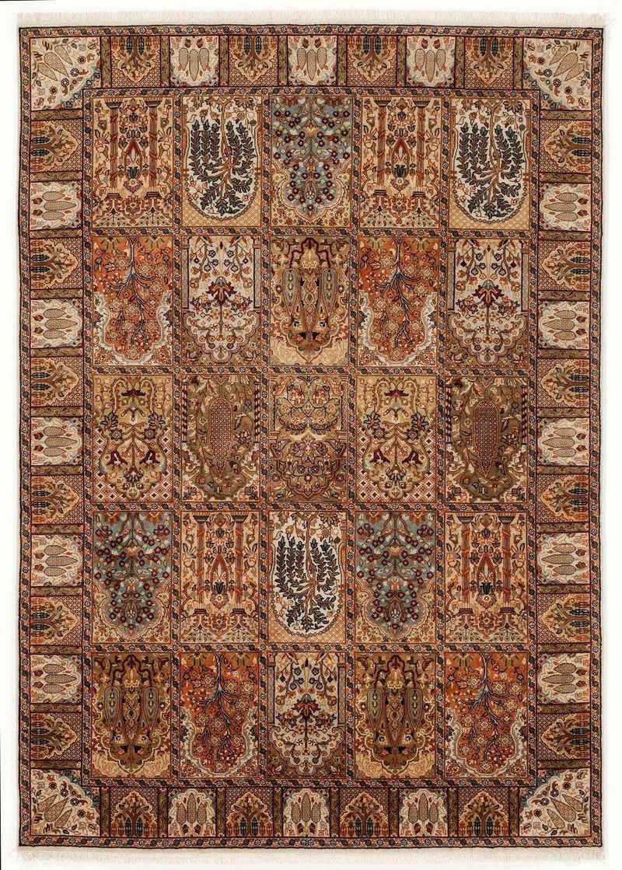 Orientteppich »Sonam Bakhtyari«, OCI DIE TEPPICHMARKE, rechteckig, Höhe 6 mm, handgeknüpft, mit Fransen, Wohnzimmer