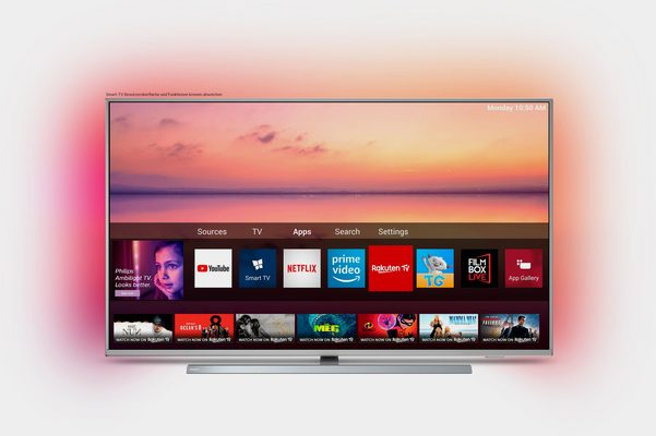 Philips 50PUS6804 LED-Fernseher (126 cm/50 Zoll, 4K Ultra HD, Smart-TV)