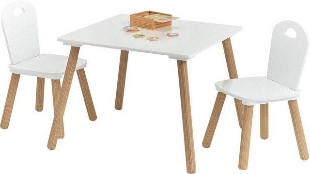 Sitzmöbel - Zeller Present Sitzgruppe »Scandi«, (Set, 3 St), für Kinder  - Onlineshop OTTO