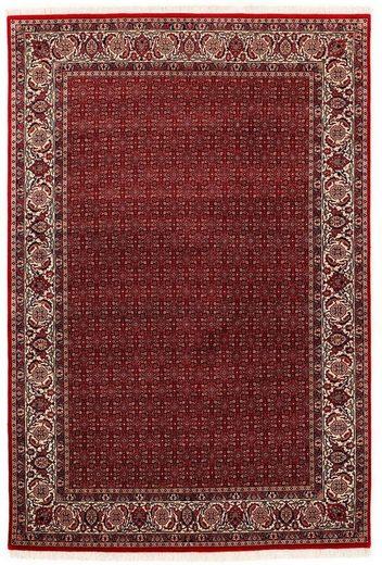 Orientteppich »Sultan Herati«, OCI DIE TEPPICHMARKE, rechteckig, Höhe 5 mm, handgeknüpft, mit Fransen