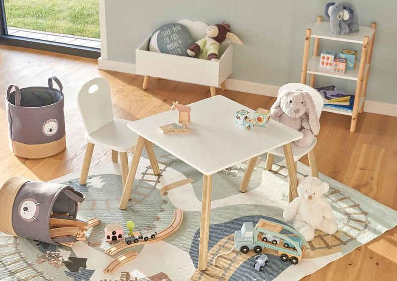Zeller Present Sitzgruppe »Scandi«, (Set, 3-tlg), für Kinder