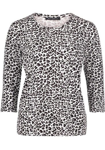 Betty Barclay Rundhalsshirt mit allover Animal-Print