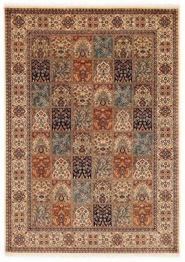 Orientteppich »Amravati«, OCI DIE TEPPICHMARKE, rechteckig, Höhe 4 mm, handgeknüpft, mit Fransen, Wohnzimmer
