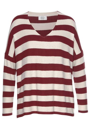 Only V-Ausschnitt-Pullover »MAYE«