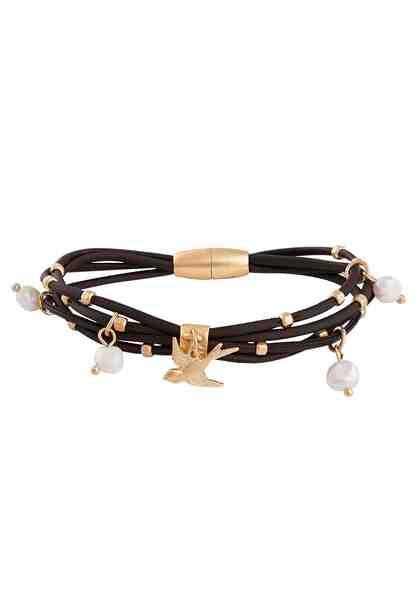 TONI GARD Armband »Vogel, A001-0020« mit synth. Perlen