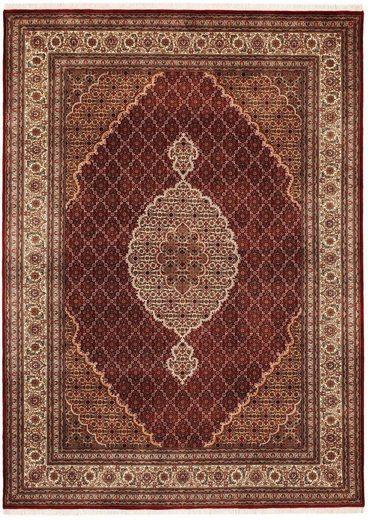 Orientteppich »Cavari Mahi«, OCI DIE TEPPICHMARKE, rechteckig, Höhe 5 mm, handgeknüpft, mit Fransen