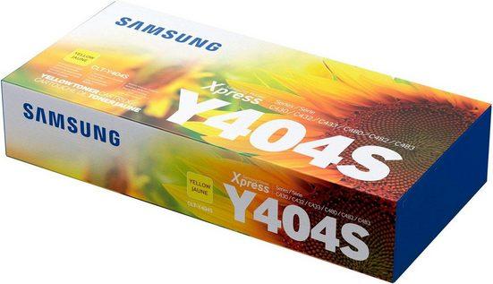 Samsung Tonerpatrone »CLT-Y404S, original, SU444A, gelb«