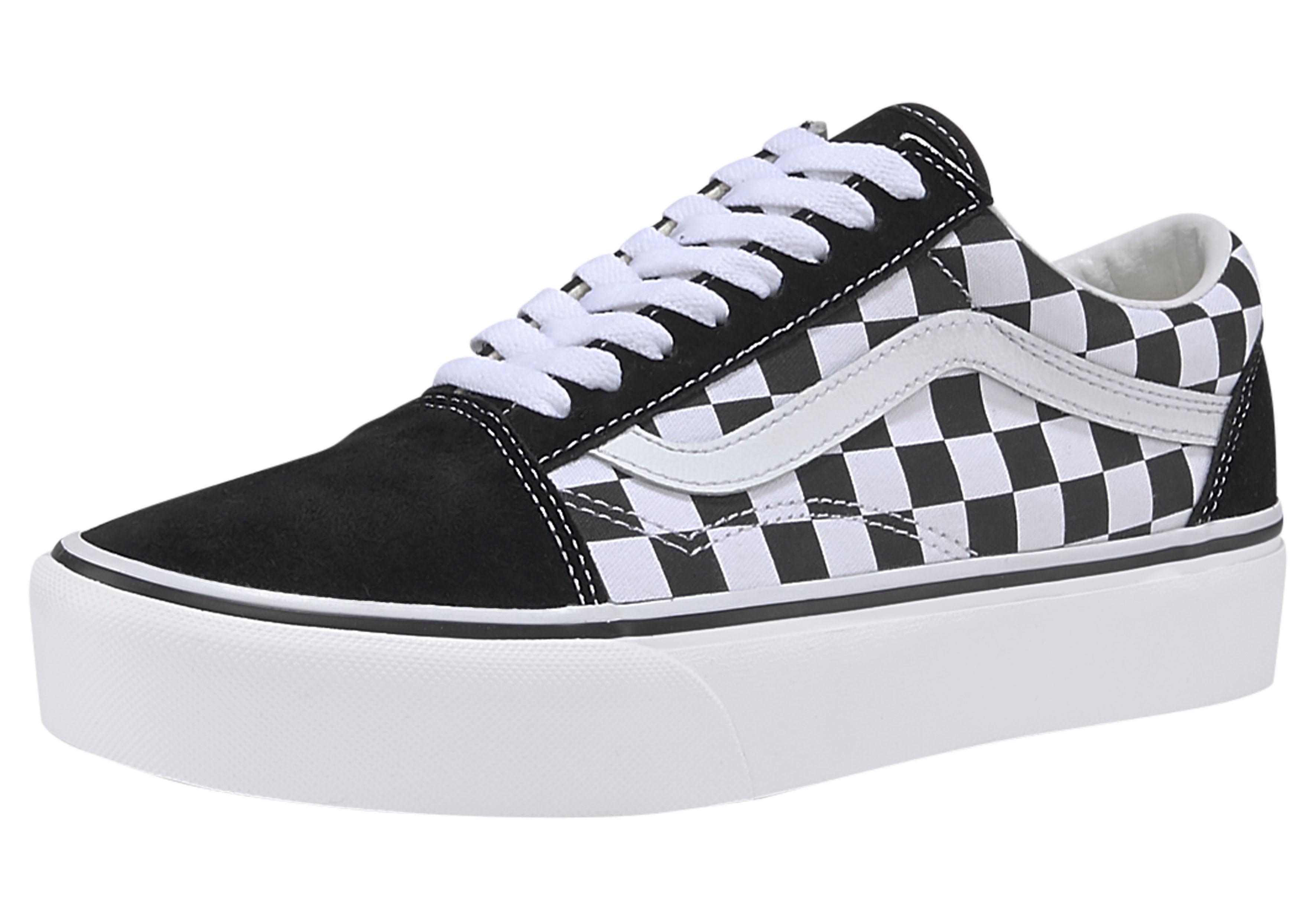 Vans »Old Skool Platform Checkerboard« Plateausneaker online kaufen | OTTO