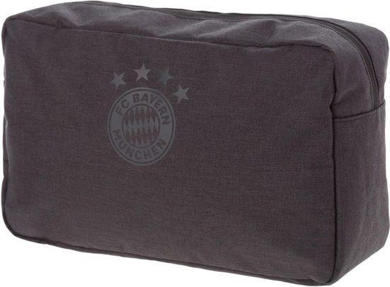 FC Bayern Kulturbeutel »FCB, anthrazit«