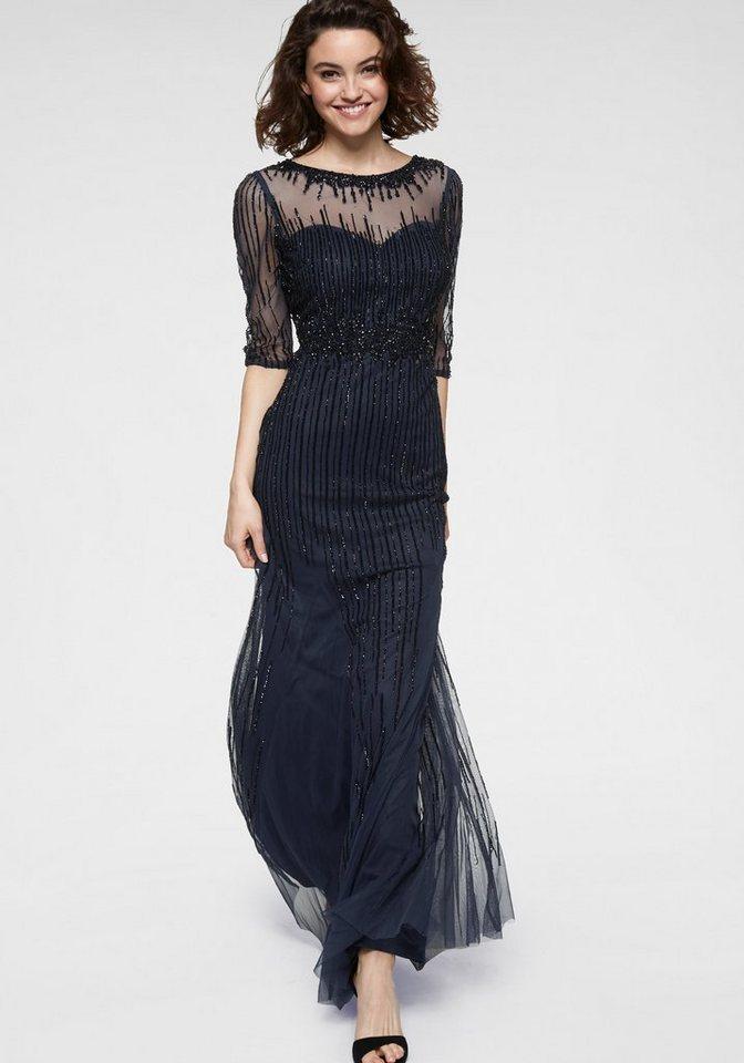 size 40 c48a6 5cb68 GUIDO MARIA KRETSCHMER Abendkleid mit transparentem Schulterbereich online  kaufen | OTTO